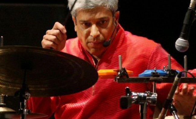 Percussionist/vocalist Trilok Gurtu performs ...