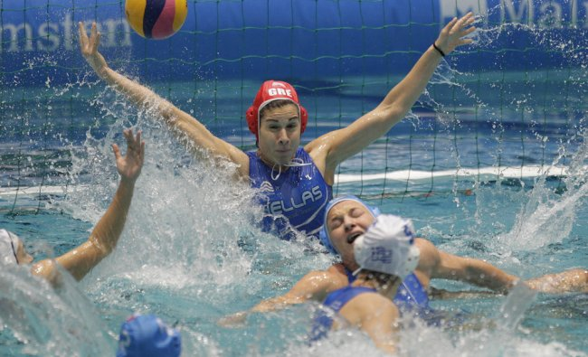 European Championships Waterpolo at Pieter