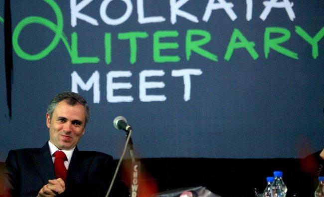 Jammu and Kashmir Chief Minister Omar Abdullah at Kolkata Book Fair