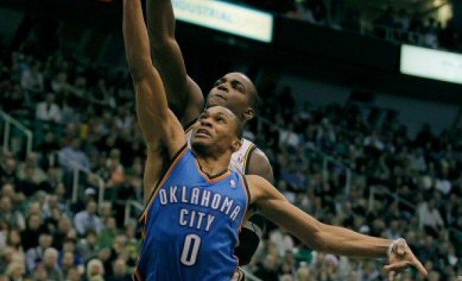 NBA basketball game in Salt Lake City