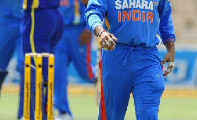 India\'s Sachin Tendulkar walks on the field during their ODI cricket series match against Sri Lanka