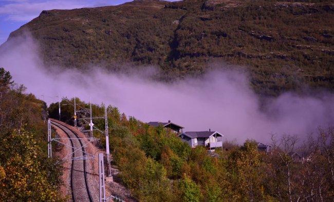 Flam Railway Line, Norway