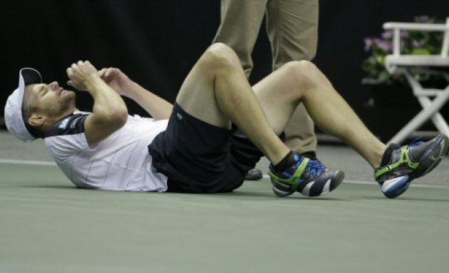 Andy Roddick hurt while playing against Denis Kudla Denis Kudla