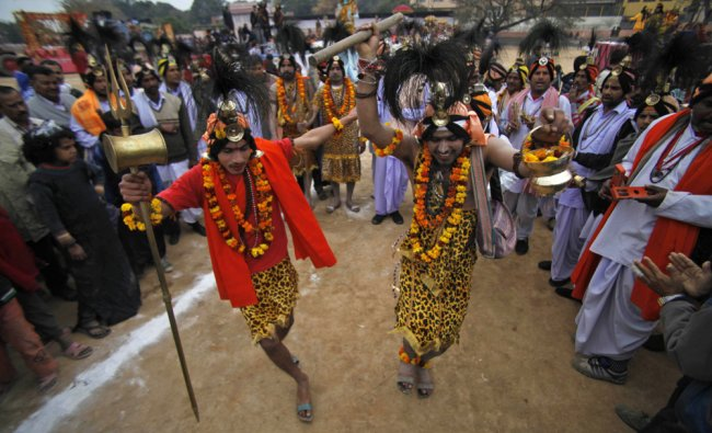 Hindu devotees participate in Shivratri festival