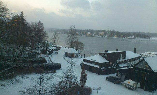 Frozen Sweden..