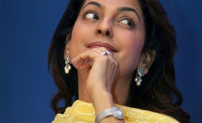 Bollywood actor Juhi Chawla during the launch of \