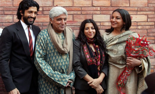 Javed Akhtar\'s book launch by Hamid Ansari