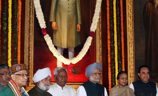 Paying tributes to former Prime Minister Morarji Ranchhodji Desai on his birth anniversary