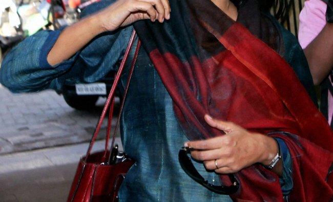 Actress and director Nandita Das arrives at book launch