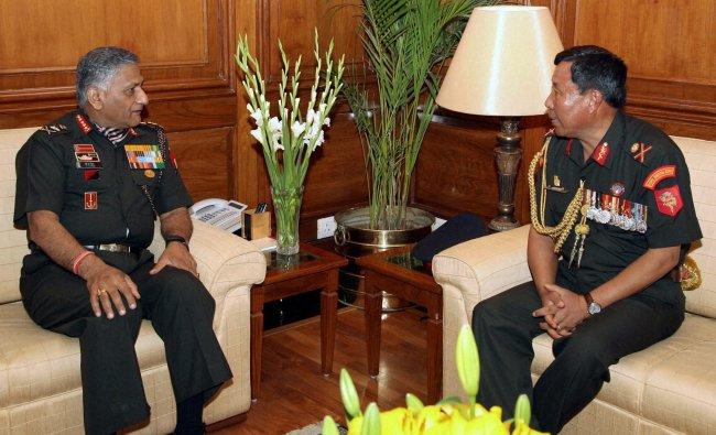 Indian Army Chief General V.K. Singh ...