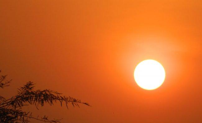 Sunset at River Tungabhadra