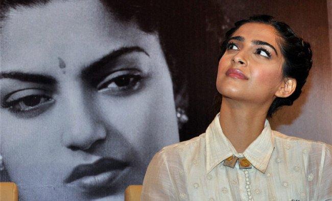 Sonam Kapoor at an event in Mumbai