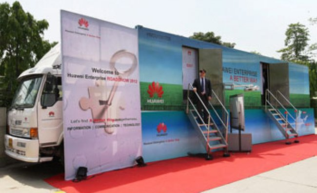 Eric Yu, President, Huawei Enterprise, Business, India, at the launch of Huawei Enterprise Roadshow
