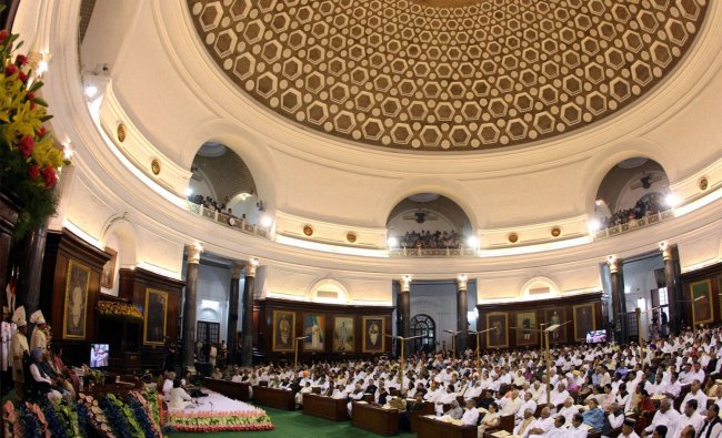 A view of Central Hall during the function to mark the 60th Anniversary