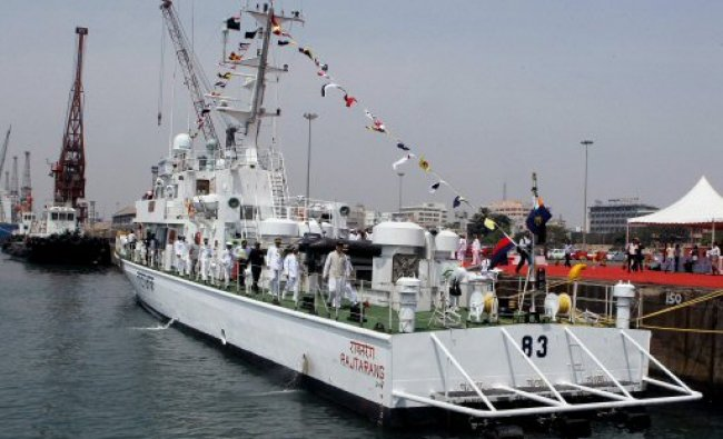 Minister of State for Defence M M Pallam Raju visits Indian Coast Guard...