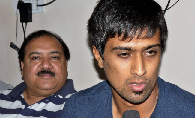 Cricketer Rahul Sharma detained by police after a raid at a rave party speaks to media...
