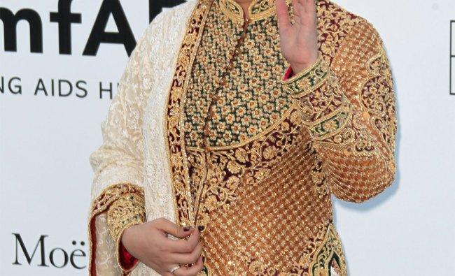 Aishwarya Rai arrives for the amfAR Cinema Against AIDS benefit in France