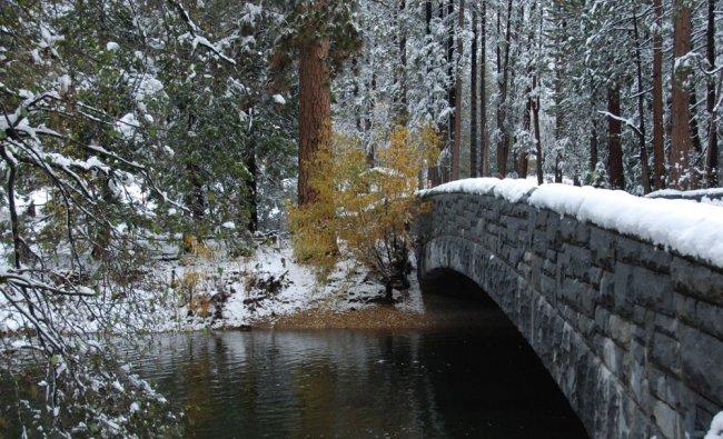 Sentinel Bridge, Yosemite, California