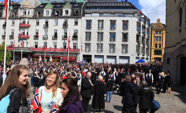 Constitution Day celebration in Norway