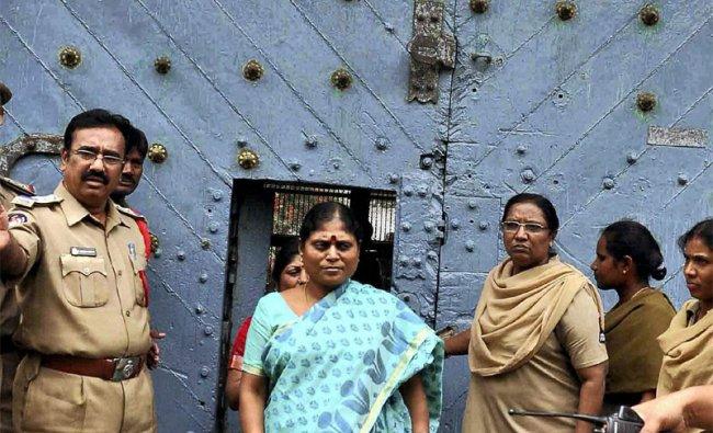 MLA Vijayalakshmi comes out after meeting her son and YSR Congress chief Jagan Mohan Reddy