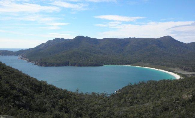 Wine Glass Beach,Tasmania