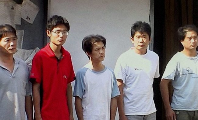 Taiwanese nationals who were arrested by the police on account of suspicious activities...