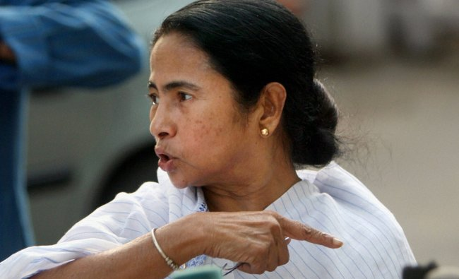 Mamata Banerjee talks to the media after a meeting with UPA Chairperson Sonia Gandhi