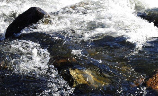 River Kaveri at Srirangapatana.