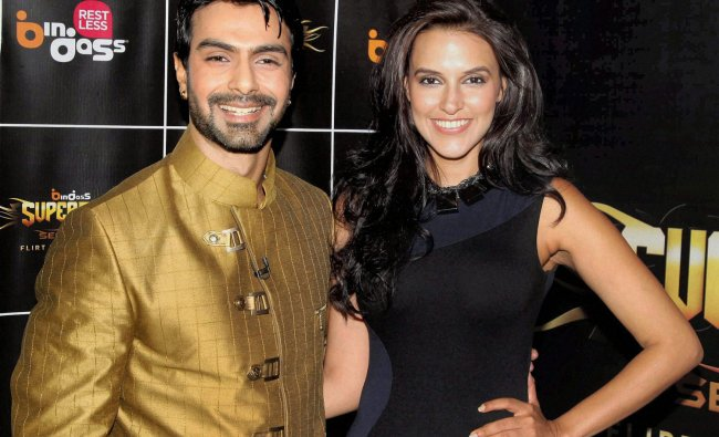 Bollywood actors Ashmit Patel and Neha Dhupia team up for auditions at the launch of new programme .