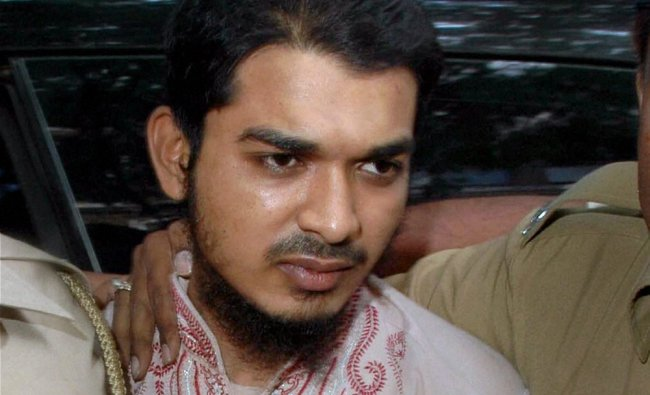 Salim Chaukiya, arrested for his alleged involvement in the recent violence at Azad Maidan...