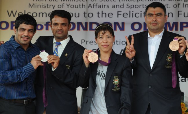 Indian London Olympic 2012 medal winners
