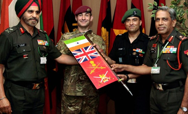 Lt Gen Ramesh Halgali flagging off the Indo-UK Army Mountaineering expedition ...