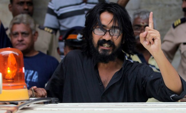 Kanpur-based cartoonist Aseem Trivedi arrested on charges of posting seditious contents...