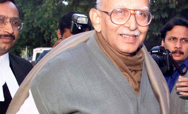 File photo of former RSS chief KS Sudarshan in New Delhi in 2000.