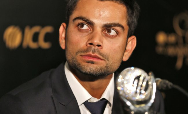 Virat Kholi meets the media after winning the ICC Men\'s ODI Cricketer of the Year