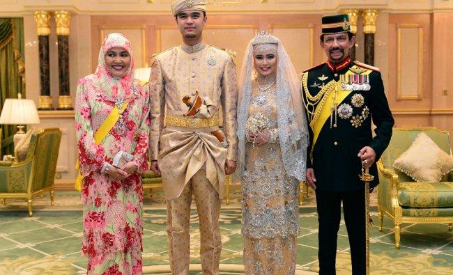 Brunei\'s newly wed royal couple, Muhammad Ruzaini and Princess Hafizah Sururul Bolkiah