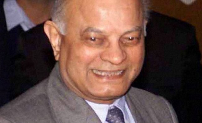 Former National Security Advisor Brijesh Mishra who passed away...