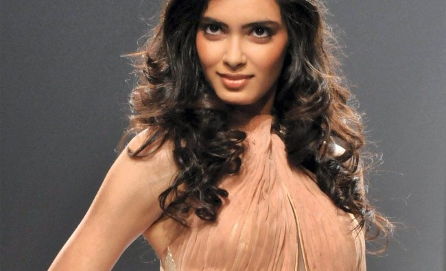 Actress Diana Penty during the Wills Lifestyle India Fashion Week