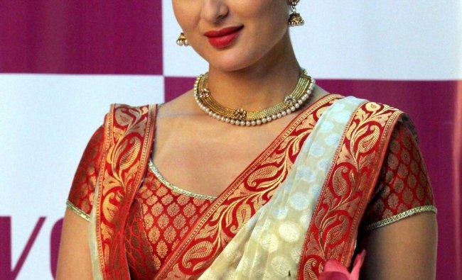 Bollywood actress Kareena Kapoor during a photo shoot in Mumbai recently...