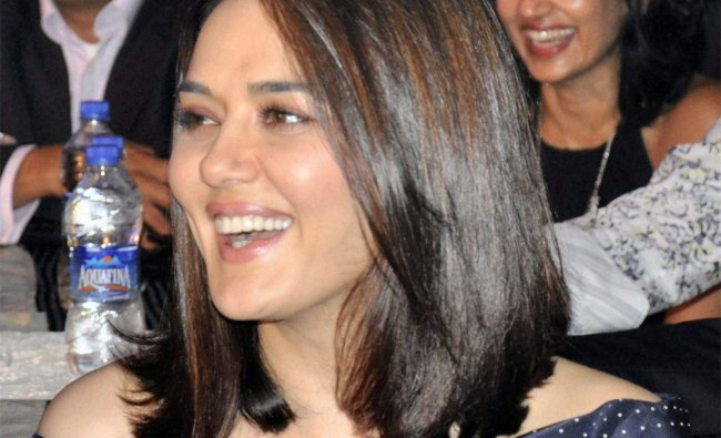 Actress Preity Zinta at Watch World Awards 2012 function in Gurgaon on Friday evening...