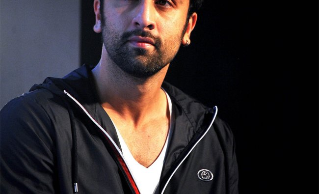 Ranbir Kapoor claps during launch of new identity of \'Swades Foudation\' by UTV CEO Ronnie Screwala