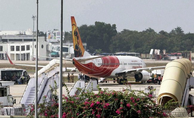 High drama unfolded at Thiruvananthapuram airport when the pilot pressed the hijack button