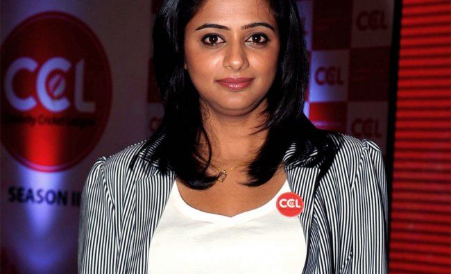 Actress Priyamani poses during the announcement of two new \'Celebrity Cricket League T20\' teams ...