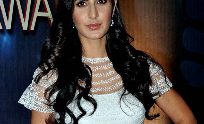 Indian Bollywood actress Katrina Kaif poses as she attends the Peoples Choice Awards ceremony