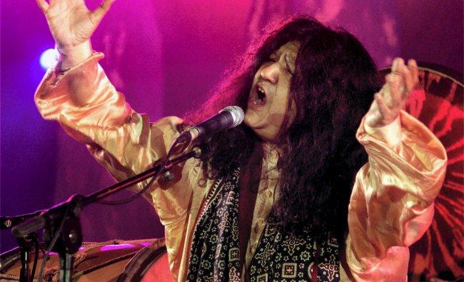 Pakistani Sufi singer Abida Parveen performs at the Annual World Sufi Music Festival..
