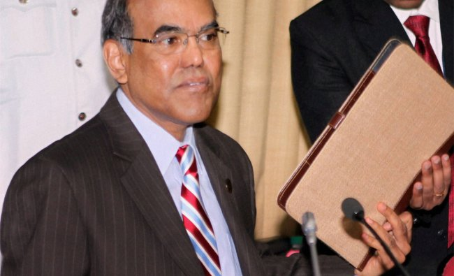 RBI Governor D Subbarao before the Reserve Bank of India\'s monetary policy review meeting