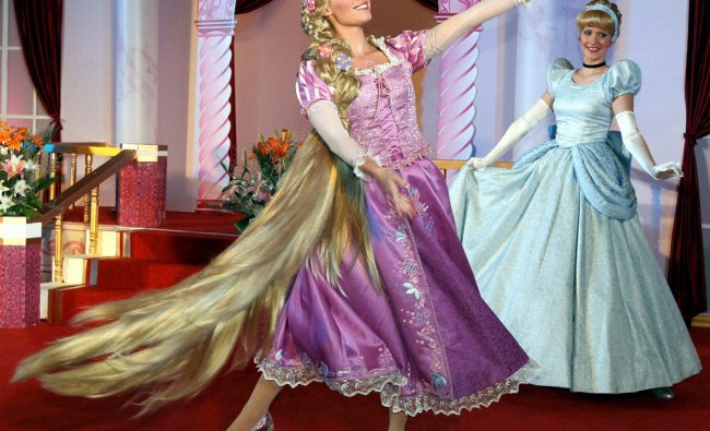 Disney princesses perform dance as they participate in the first ever \'Disney Princess Academy\'