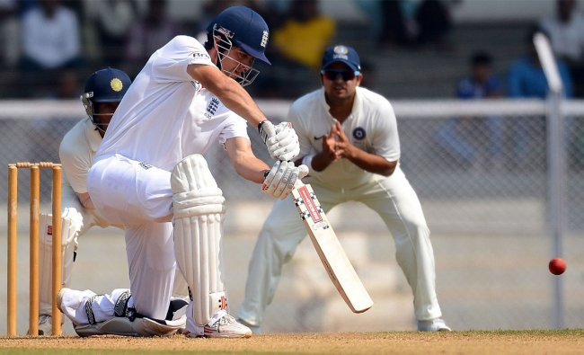 India \'A\' cricketers Wriddhiman Saha (L) and Suesh Raina (R) during a warm up match