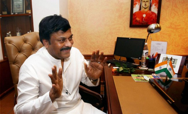 K Chiranjeevi takes charge as the Minister of State for Tourism with Independent Charge at his...