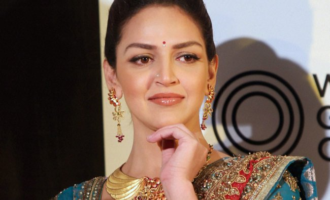 Esha Deol during the launch of a Jewellery collection-\'AZVA\' by World Gold Council in Bengaluru